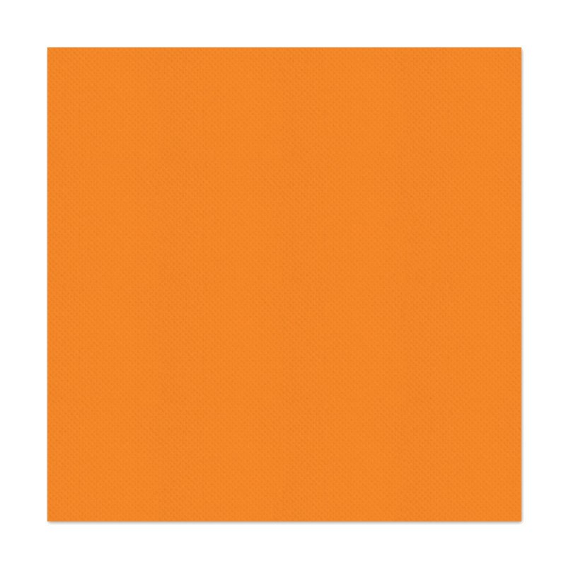 40 serviettes tex touch mandarine