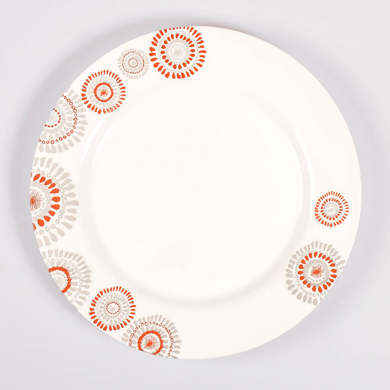 Assiette plate 'Comedia Red'