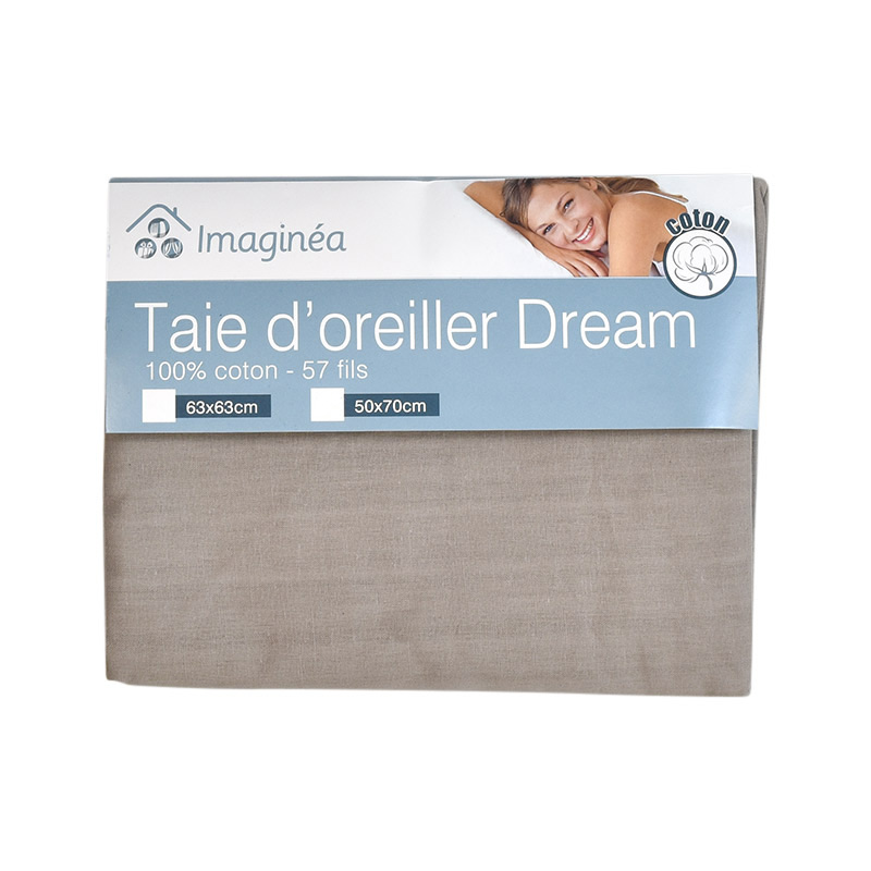 Taie d'oreiller carrée 'Dream'