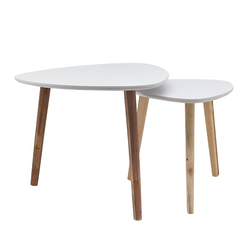 Table basse 'Twiggy' forme galet