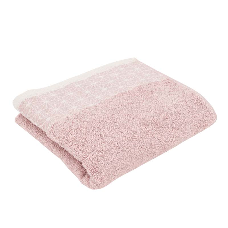 Serviette de toilette Stelar rose