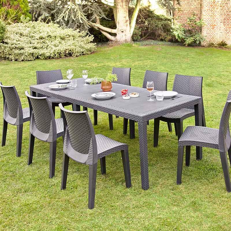 Table de jardin extensible \'Queen\' - L\'Incroyable