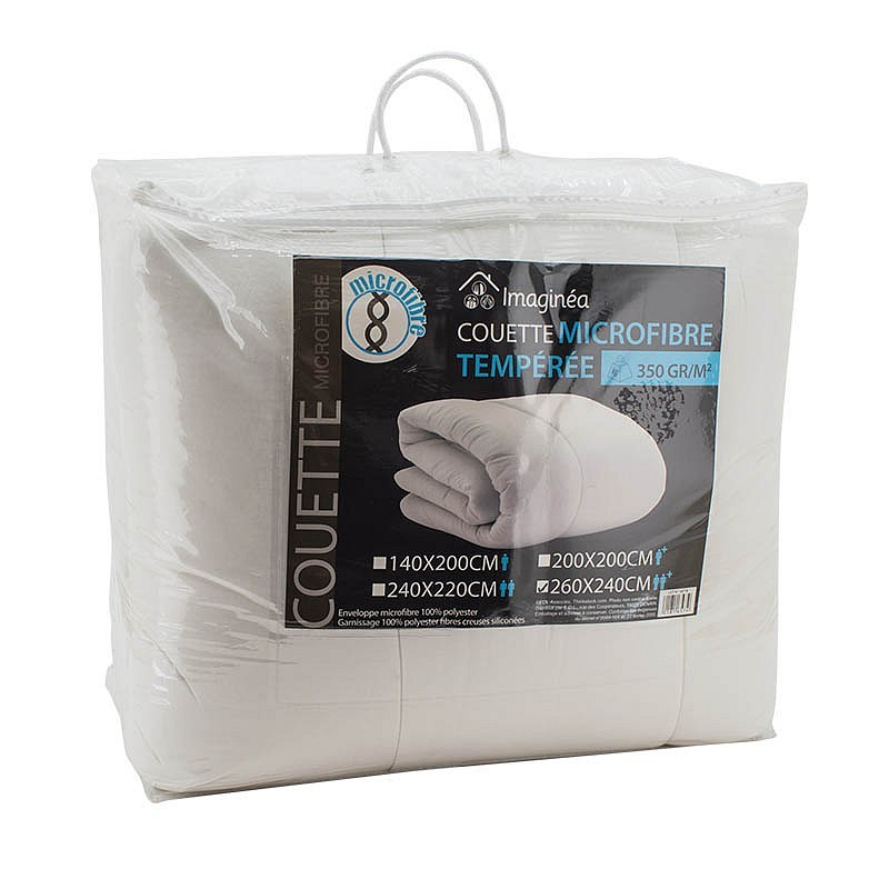 Couette microfibre 350g/m² 2pers