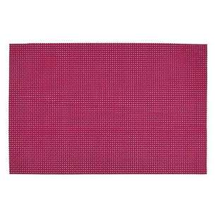 Set de table 'Quadri' fuchsia