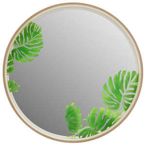 Miroir rond Tropical